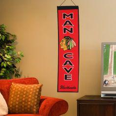 Chicago Blackhawks Man Cave Banner