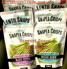 Snap Peas Recipe, Harvest Snaps, Sugar Snap Peas, Green Peas, New Flavour, Lentils, Giveaways, Stuffed Peppers