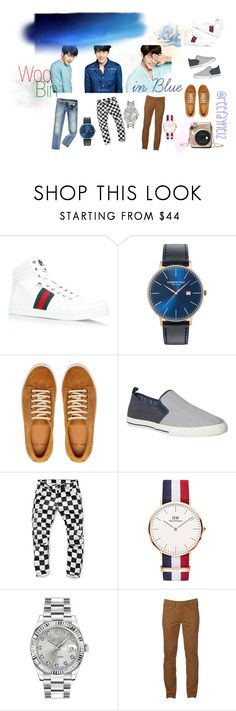 """Get well soon!"" by toscarendezvous on Polyvore featuring Gucci, Kenneth Cole, White Stuff, G-Star Raw, Daniel Wellington, Rolex, Urban Pipeline, Calvin Klein, men's fashion and menswear"