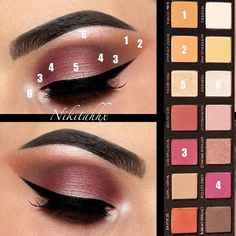 Modern Renaissance Palette (shades: Raw Sienna, Burnt Orange, Venetian Red, Love Letter, Primavera and Vermeer).