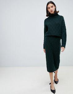 a7d705b7155b Selected Femme knit pencil skirt