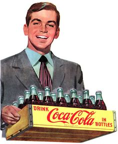 I remember lifting a case of cokes in 1966 and hurt my back for the first time. Still have back problems. But I do love Coco-Cola Products!