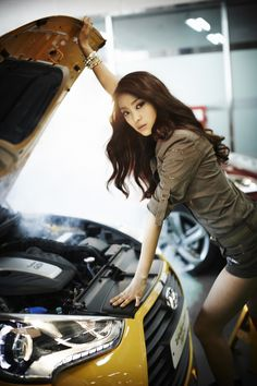 [CF] Sistar Bora – Hyundai Veloster Turbo   korean lovers photoblog