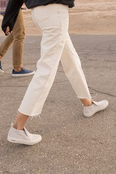 Show up in SeaVees - the original casual sneaker since 1964