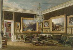 Salon des Dames du Palais, Chateau de Saint Cloud by Fournier