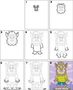 how-to-draw-a-werewolf