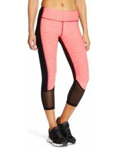 Spaced Dyed Yoga Capris by RBX