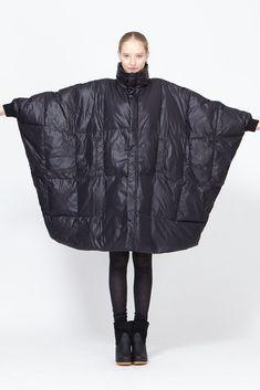 Henrik Vibskov Duvet Coat (Black)