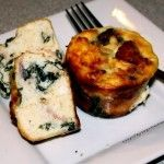 Keto Spinach Feta Muffins are my low carb and gluten free answer to that yummy wrap from Starbucks!