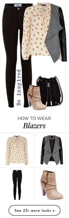 """""""Casual Outfit #3"""" by cloudybooks on Polyvore featuring Dorothy Perkins, Vince Camuto and Wet Seal"""