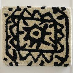 black On White - Manuscript Rug - Nani Marquina