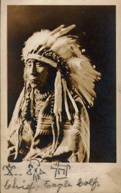 Eagle Calf (aka John Ground) - Blackfeet (Pikuni) - circa 1920