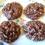 Karens PB2 No Bake Cookies  Karens Recipes - Healthy Eating