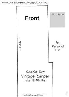 Vintage Romper Pattern - Cass Can Sew - Google Docs