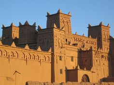 Ourzazate in Morocco had some fascinating casbahs where many Hollywood films had been shot!