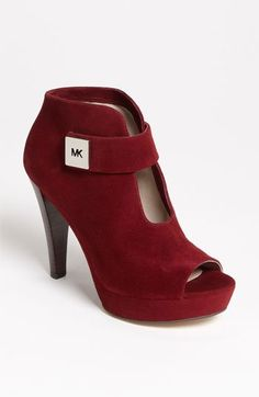 Classy & Sophisticated MK Bootie!  Get it Gyrl!