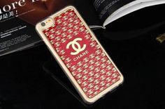 Best iPhone 6 6S Chanel Soft Cases Best Buy Red