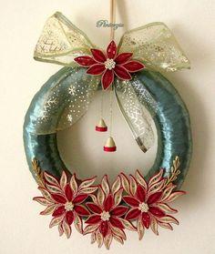 Christmas wreath by pinterzsu.deviantart.com on @DeviantArt