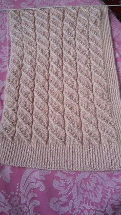 The Fairfield Scarf pattern by Donna Brooks Afghan Crochet Patterns, Stitch Patterns, Knitting Patterns, Knitting Stitches, Baby Knitting, Andover Fabrics, Shabby Fabrics, Baby Sweaters, Crochet Projects