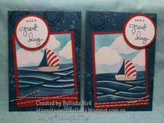 Stampin' Up! Swirly Bird & Swirly Scribbles - Masking & Sponging