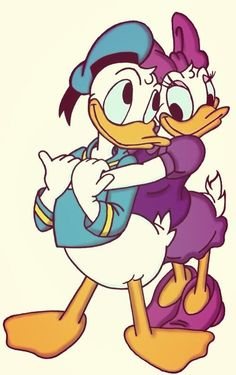 Donald and Daisy Duck、