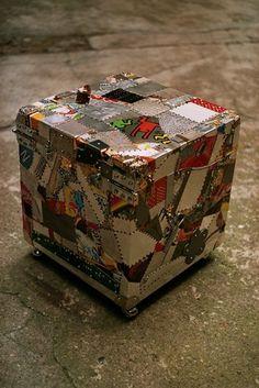 T - 40 Tavolo Box By Franco Corso
