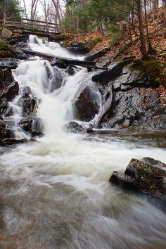 Dunlop Falls - Gatineau Park by Derek Mellon, via 500px