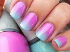 ombre nails...