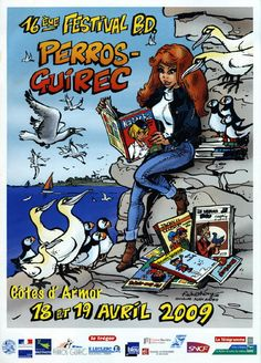 festival de la BD 2009 perros-guirec Bretagne