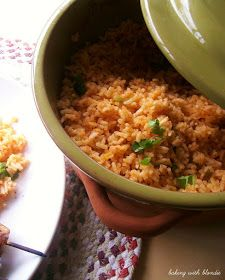 Baking with Blondie : Mexican Rice from Scratch