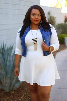 Curvy Outfit Ideas | Petite Outfit Ideas | Plus Size Fashion | Summer Fashion | OOTD | Professional Casual Chic Fashion and Style Inspiration | whitedress4 resized