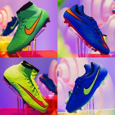 Bold colors for elite players. The new Highlight Pack from Nike.