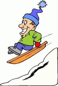Winter Clip Art | sledding-2-clipart clipart - sledding-2-clipart clip art