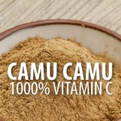 Dr Oz: Camu Camu Soda Recipe + Camu Camu Vitamin C Fountain of Youth