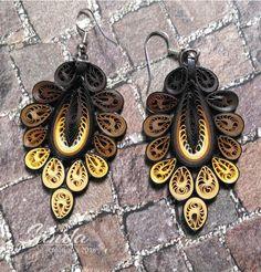 earrings by Sanda Dragotă