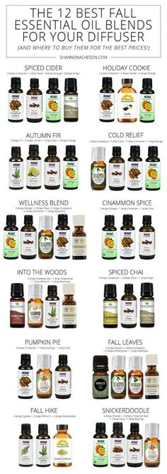 12 of the Best Fall Essential Oil Blends For Your Diffuser I LOVE the smell of fall & I prefer essential oils in a diffuser over a candle or plugin. Here are the Best Fall Essential Oil Blends For Your Diffuser. Fall Essential Oils, Essential Oil Candles, Essential Oil Diffuser Blends, Diy Diffuser Oil, Essential Oil Perfume, Perfume Oils, Best Smelling Essential Oils, Essential Oil Chart, Best Diffuser