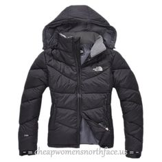 Black Gray The North Face Hoodie Jackets For Women , north face ...