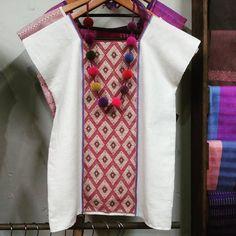 From Chiapas, Mexico Mexican Fashion, Mexican Outfit, Mexican Dresses, Batik Fashion, Boho Fashion, Womens Fashion, Mom Outfits, Casual Outfits, Fashion Design Template