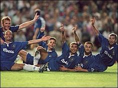 The #ChelseaQuiz answer is Roberto Di Matteo. Well done if you got it right. #CFC #Chelsea https://twitter.com/chelseachadder/status/628927413599252480 …