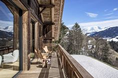 Tour a Celestial Rothschild Chalet on the Peak of the French Alps