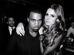 Kanye West + Lana