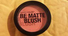City Color Be Matte Blush in Fresh Melon #Fresh