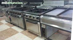 . Venta de cocinas industriales,de cuatro y seis fuegos,revisadas, tres meses de garantia.