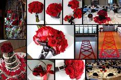 como decorar una boda color rojo3