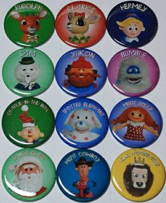 Rudolph Magnet Christmas Misfit Toys Reindeer Holiday Santa Claus Party Ideas