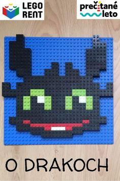 Stiahnite si predlohy na mozaikového draka Bezzubka a ďalšie inšpirácie pre milovníkov drakov. Drake, Lego, Games, Game, Legos, Playing Games, Gaming, Toys, Spelling