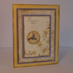Paper craft and card idea using Stampin' Up! Bloomin' Marvelous stamp set. Crafting the Day Away: http://supersuelovestocraft.blogspot.com/