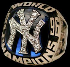 1996 New York Yankees championship ring
