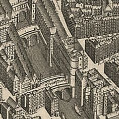 Map of Paris 1736 | Old Maps of Paris