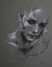 Daily Sketches of Guy Denning Artist: Guy Denning, charcoal and chalk {contemporary female head sketch woman face portrait drawing} Despair !Artist: Guy Denning, charcoal and chalk {contemporary female head sketch woman face portrait drawing} Despair ! Life Drawing, Figure Drawing, Painting & Drawing, Paper Drawing, Manga Drawing, Painting Abstract, Art Sketches, Art Drawings, Drawing Faces
